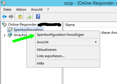 Setup OCSP Service